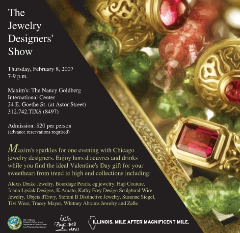 Th Feb 8 Chicago Local Jewelry Designers Show